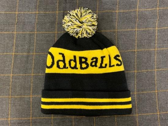 Winter 'Oddballs' bobble hat