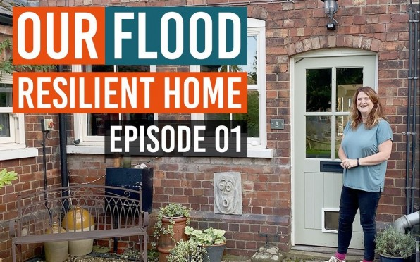 Our Flood Resilient Home series which launched 16 September 2020