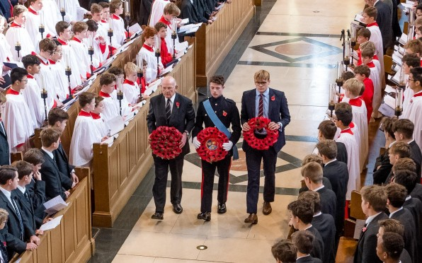 story image for Service of Remembrance honours fallen Tonbridgians