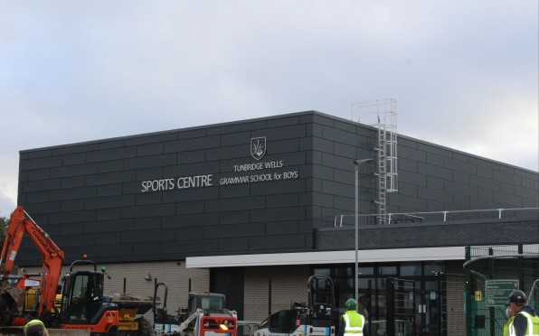 Our new Sports Centre taking shape