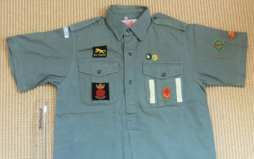 18th New Forest Scout Shirt - 1966