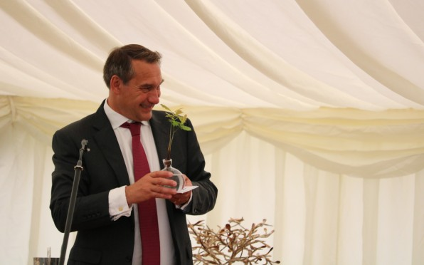 Mike Stanley at his last Founder's Day - July 2021