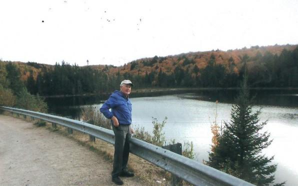 John Grebby at Algonquin Provincial Park, Ontario, Canada