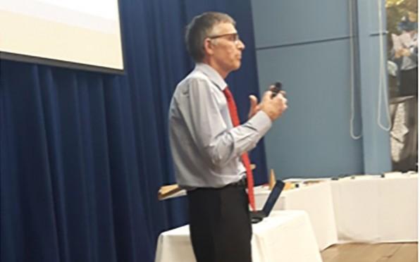 David Hill explaining Philosophy