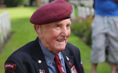 Pupils at Walhampton met veterans from Arnhem