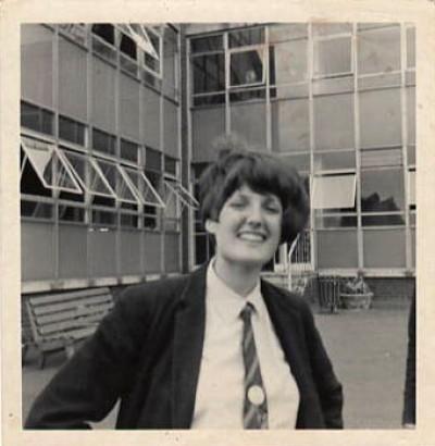 Image - Elizabeth Goodrich July 1966 Last day at WGGS