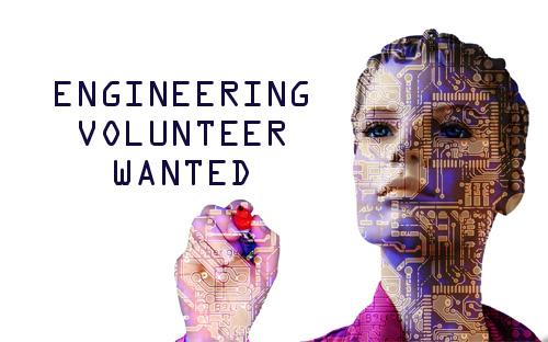 Engineering volunteer wanted