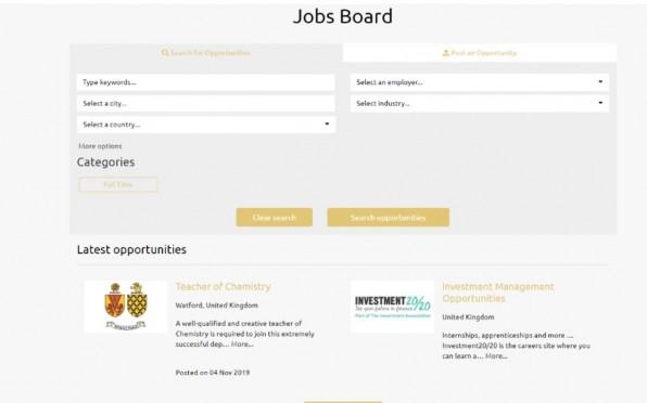 WGGS Jobs Board