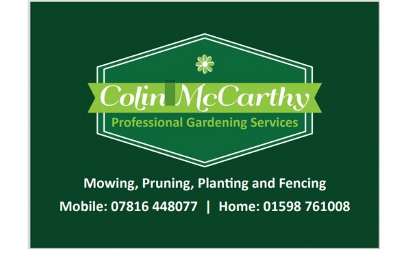 Colin McCarthy Professional Gardening Services