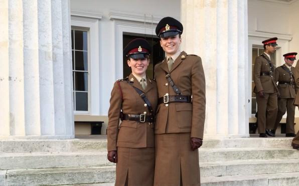 Ella Gale (98-07B) and Capt Victoria (Tori) Moss (02-09F)