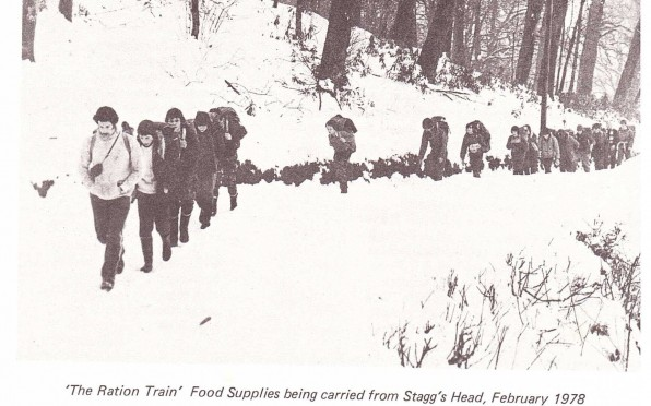 """ The Ration Train"""