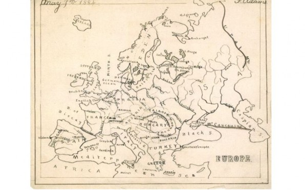 Fred's Map of Europe