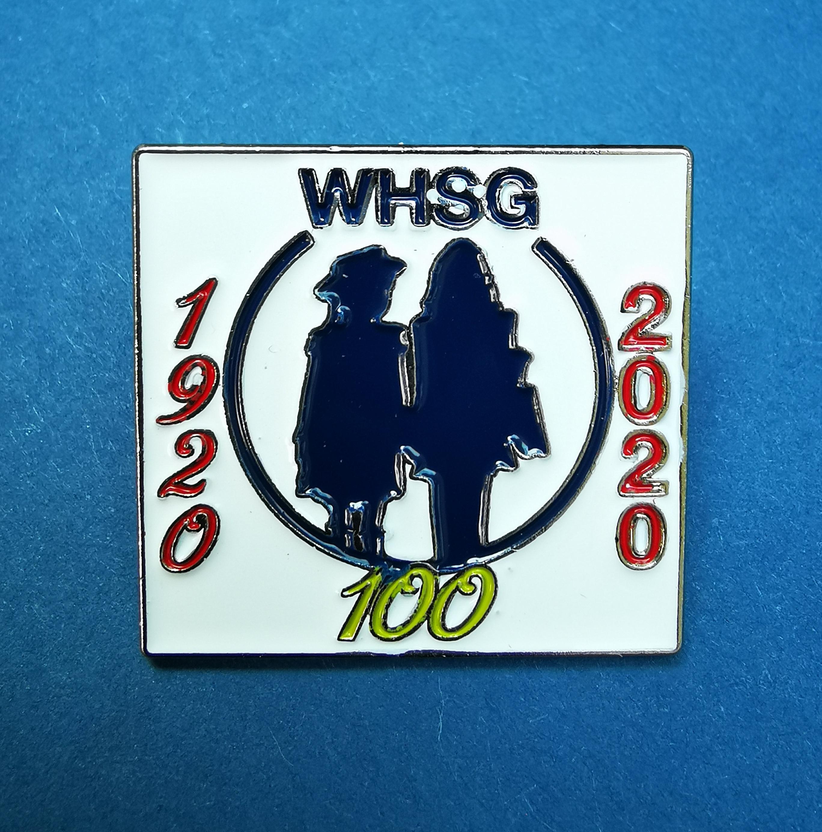 Centenary Metal Pin Badge