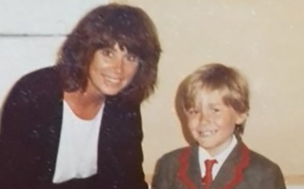 Mrs Rootes & a Wetherby pupil in the 1980s