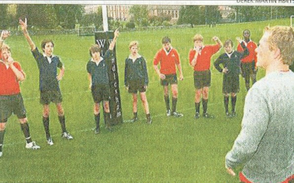 Rugby coaching - Josh Lewsey