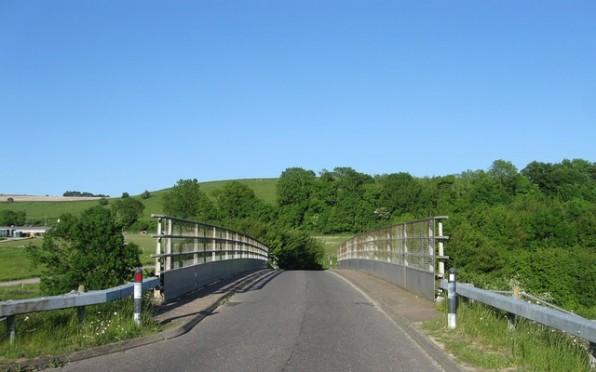 New Bridge across the A24