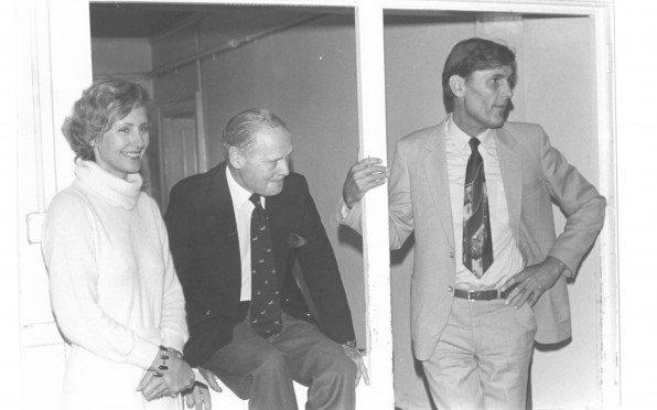 Douglas Bader with Elizabeth Anne & Charles Malden