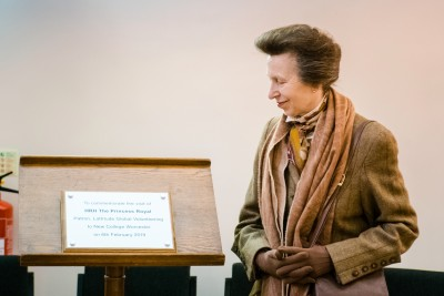 Gallery - HRH The Princess Royal visits New College Worcester