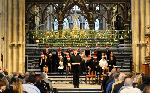 The Choir performs at Worcester Cathedral