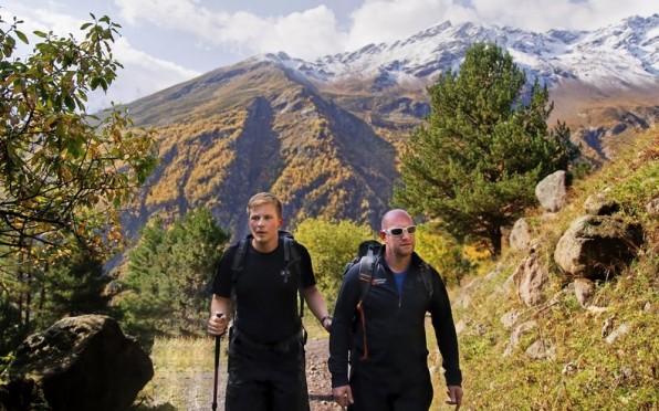 Jack climbing Mt Elbrus