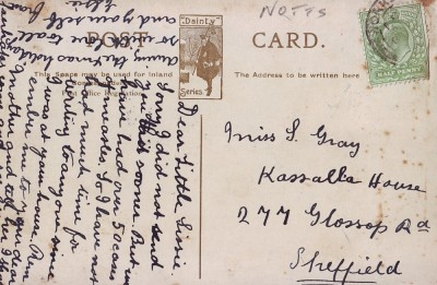 Gallery - An early postcard