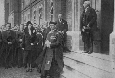 Gallery - Opening of the new buildings by the Duke Portland in 1931