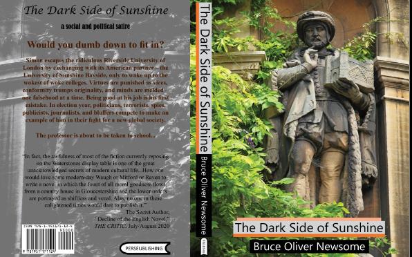The Dark Side of Sunshine: hardback cover