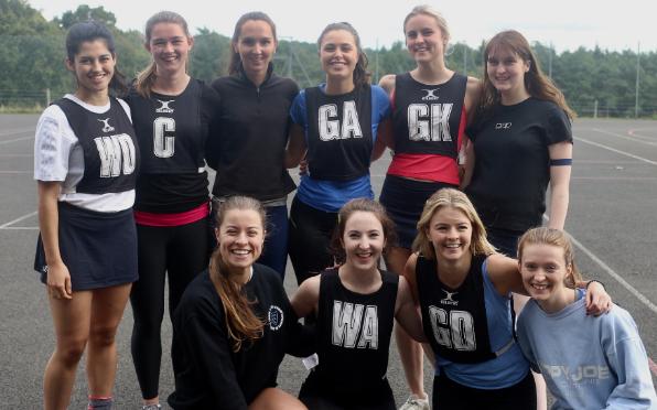 The Women of Worth Netball Team