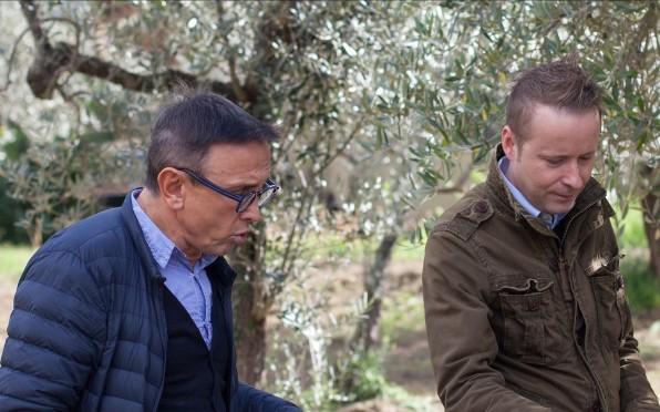 7 Michelin Star Chef Bruno Barbieri with Dominique